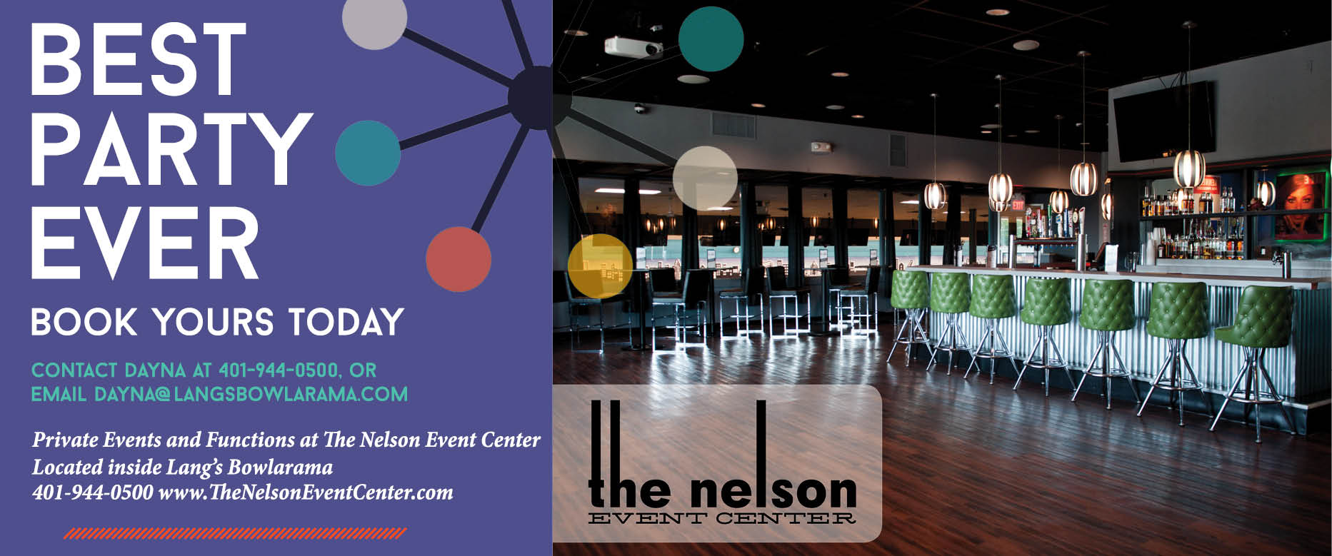 The Nelson Event Center, photo my Michelle Lee Photography